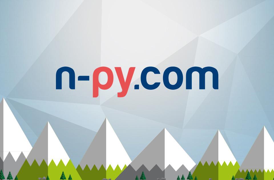 <b>N'PY</b><br/>pour la commercialisation du site
